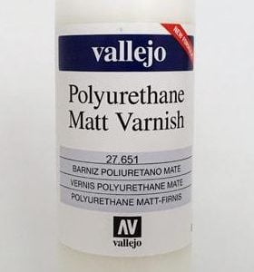Matt Polyurethane Varnish by Vallejo 27651 200ml