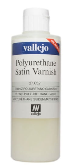 Satin Polyurethane Varnish by Vallejo 27652 200ml