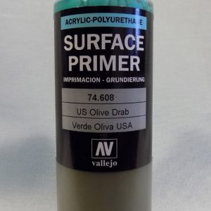 200ml Vallejo Primer Model Color Colour 74608 U.S. Olive Drab