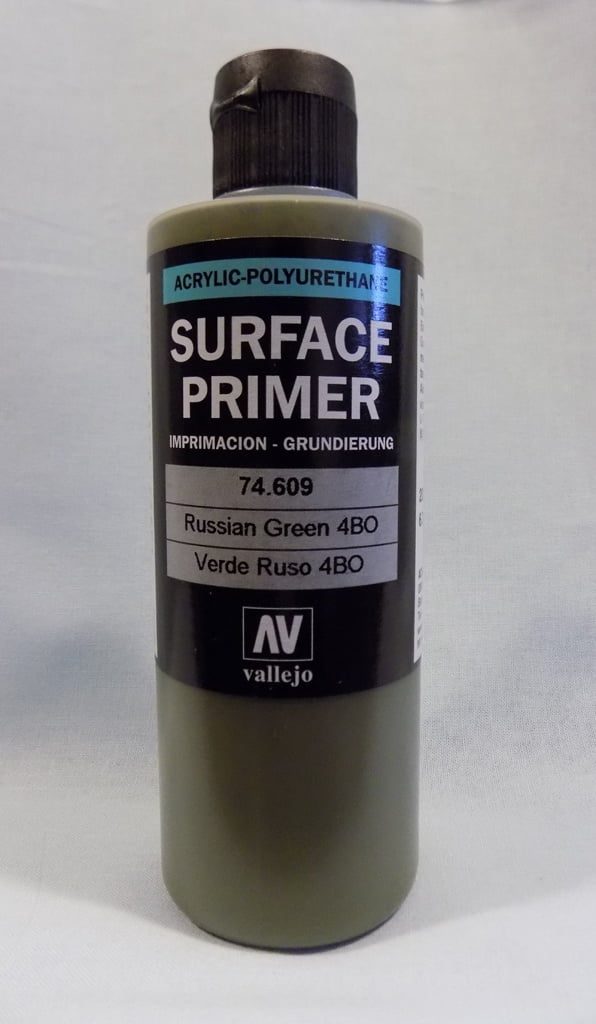 200ml Vallejo Primer Model Color Colour 74609 Russian Green 4BO