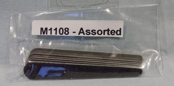 Alpha Abrasives Mini Assorted Tapered Files ALB M1108