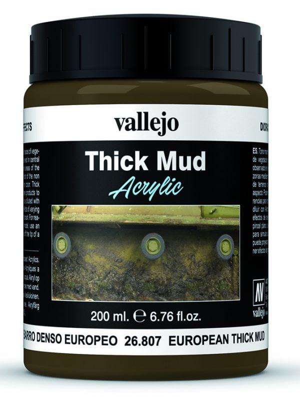 European Mud Thick Mud by Vallejo 26807 200ml