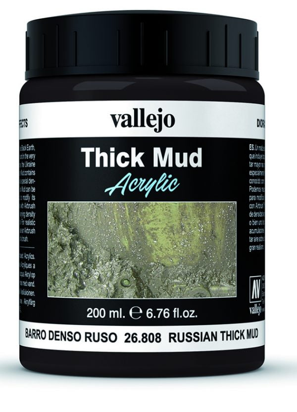 Russian Mud Thick Mud by Vallejo 26808 200ml