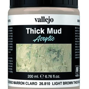 Light Brown Mud Thick Mud by Vallejo 26810 200ml