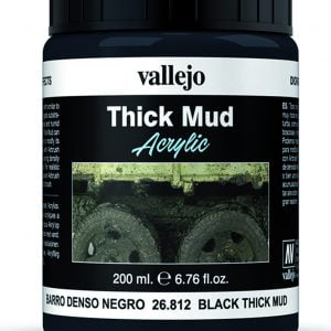 Black Mud Thick Mud by Vallejo 26812 200ml