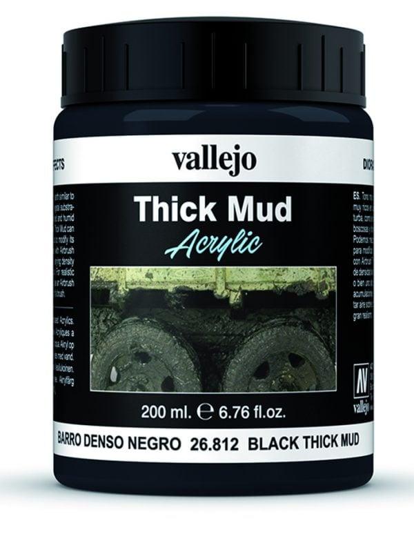 Black Mud Thick Mud by Vallejo 26812 200ml