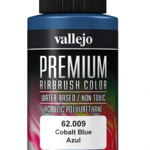 Cobalt Blue Premium Airbrush Colour by Vallejo 62009 60ml