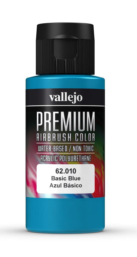 Basic Blue Premium Airbrush Colour by Vallejo 62010 60ml