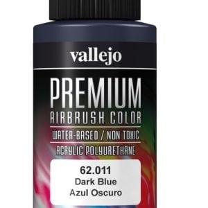 Dark Blue Premium Airbrush Colour by Vallejo 62011 60ml