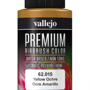 Yellow Ochre Premium Airbrush Colour by Vallejo 62015 60ml