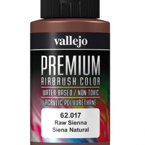 Raw Sienna Premium Airbrush Colour by Vallejo 62017 60ml