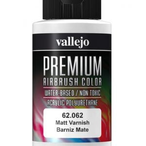 Matt Varnish Premium Airbrush Colour by Vallejo 62062 60ml