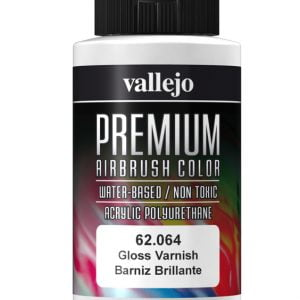 Gloss Varnish Premium Airbrush Colour by Vallejo 62064 60ml