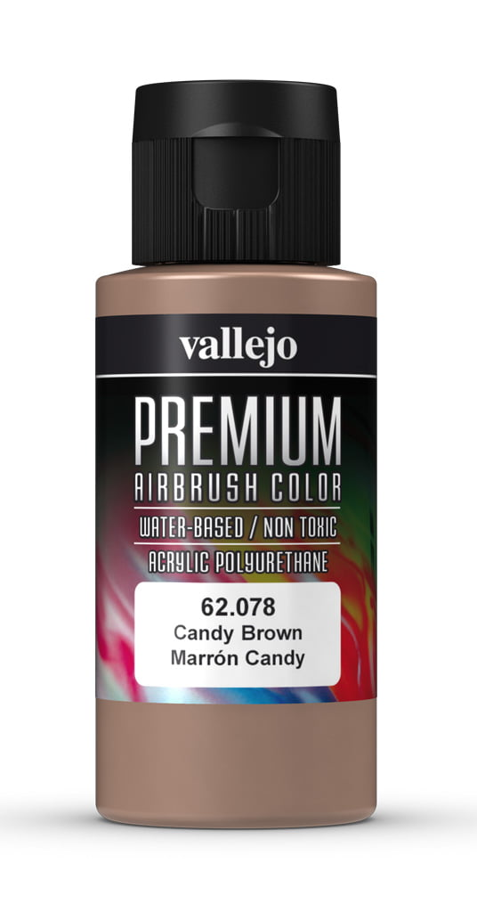 Candy Brown Premium Airbrush Colour by Vallejo 62078 60ml