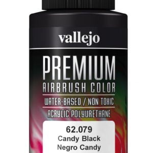 Candy Black Premium Airbrush Colour by Vallejo 62079 60ml