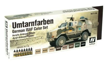 Umtarnfarben German ISAF color set by Vallejo 71159