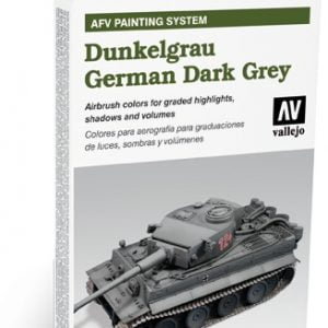 AFV Dunkelgrau German Dark Grey Set by Vallejo 78400