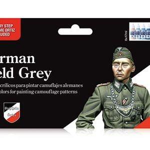 German Field Grey Set by Vallejo 70181