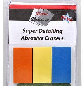 Super Detailing Abrasive Eraser Set ALB 6405