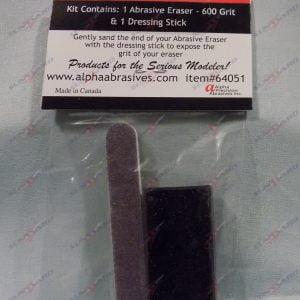 Rear Super Detailing Abrasive Eraser 600 Grit ALB 64051