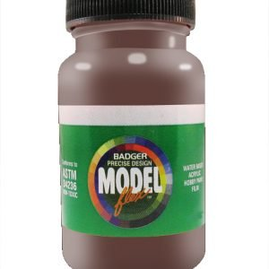 Maroon Tuscan Oxide Red ModelFlex Railroad Paint by Badger 16-15