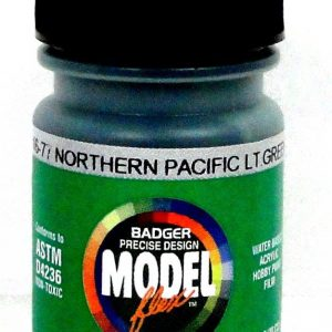Northern Pacific Light Green ModelFlex Railroad Paint by Badger 16-77