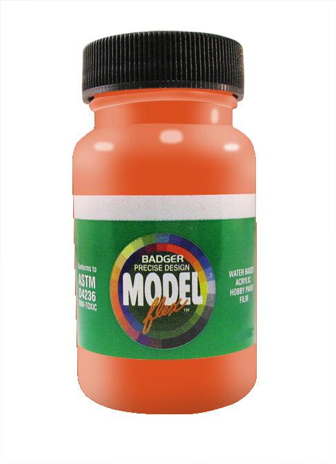 Gloss Orange ModelFlex Automotive Paint by Badger 16-109