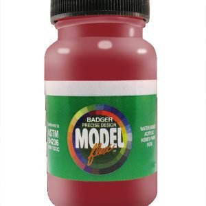Deep Red ModelFlex Automotive Paint by Badger 16-116