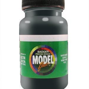 Flat Black ModelFlex Automotive Paint by Badger 16-119