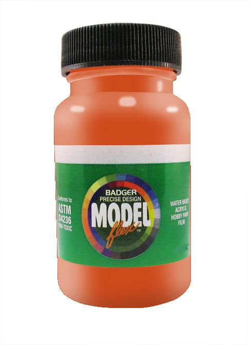 BNSF Orange ModelFlex Railroad Paint by Badger 16-152