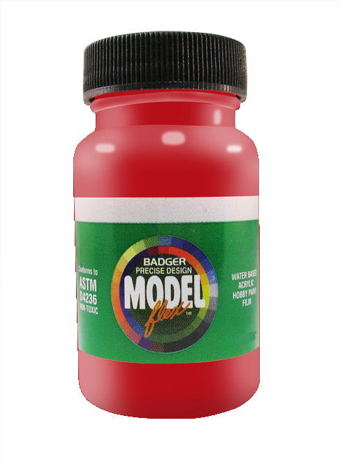 C NW Red ModelFlex Railroad Paint by Badger 16-187