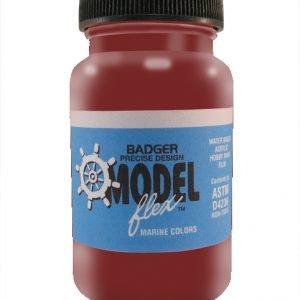 Deck Red ModelFlex Marine Paint by Badger 16-431