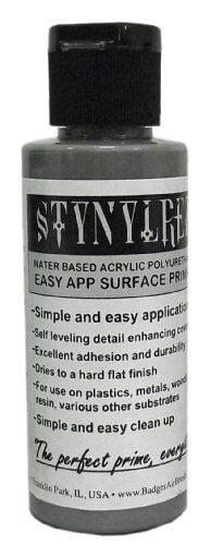 Gray Grey Stynylrez Primer by Badger Airbrush SNR-202 2oz 60ml