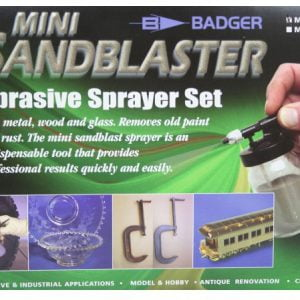Badger AirBrush Mini Sandblast Abrasive Sprayer Set 260-1