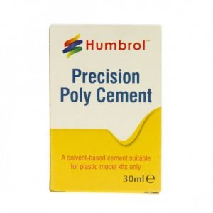 Box Humbrol Precision Poly Cement Plastic Glue 30ml AE2715
