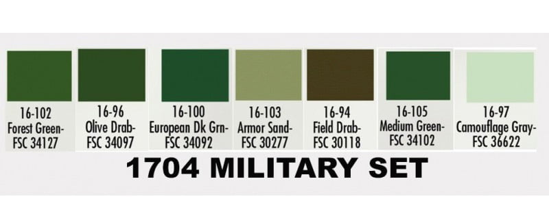 Olive Drab Military Paint: Vallejo AFV Painting System US