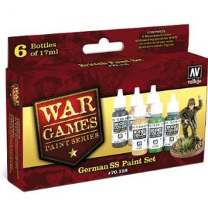 German SS Paint Set by Vallejo 70158