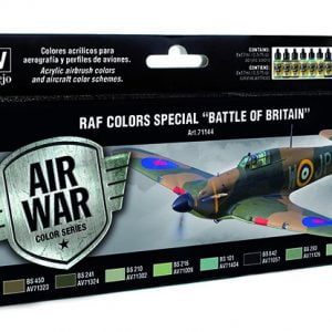 RAF Colors Special Battle of Britain Paint Set by Vallejo 71144