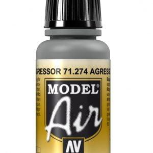 Vallejo Model Air Color Colour Agressor Gray Grey 71274