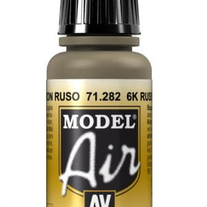 Vallejo Model Air Color Colour 6K Russian Brown 71282