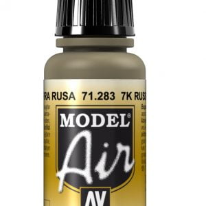 Vallejo Model Air Color Colour 7K Russian Tan 71283