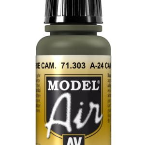 Vallejo Model Air Color Colour A-24 Camouflage Green 71303