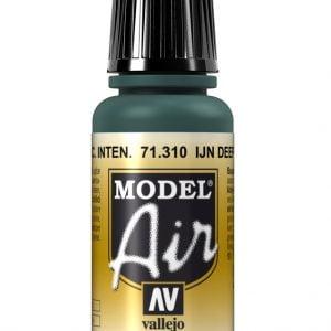 Vallejo Model Air Color Colour IJN Deep Dark Green 71310