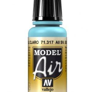 Vallejo Model Air Color Colour AII SV. Gol Light Blue 71317