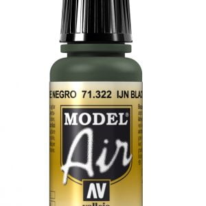 Vallejo Model Air Color Colour IJN Black Green 71322