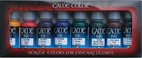 Tintas Game Inks Paint Set by Vallejo 72296