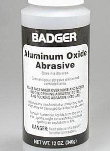 Badger Aluminum Oxide Abrasive 12 oz 340g 50-260