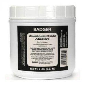 Badger Aluminum Oxide Abrasive 5 lbs 2.27kg 50-270