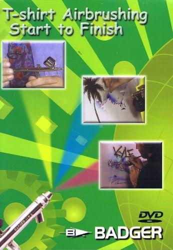 Badger T-Shirt Airbrushing Start To Finish DVD BD-107