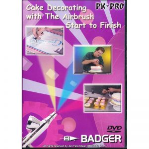 Badger DVD Cake Decorating with Airbrush Start to Finish BD-108